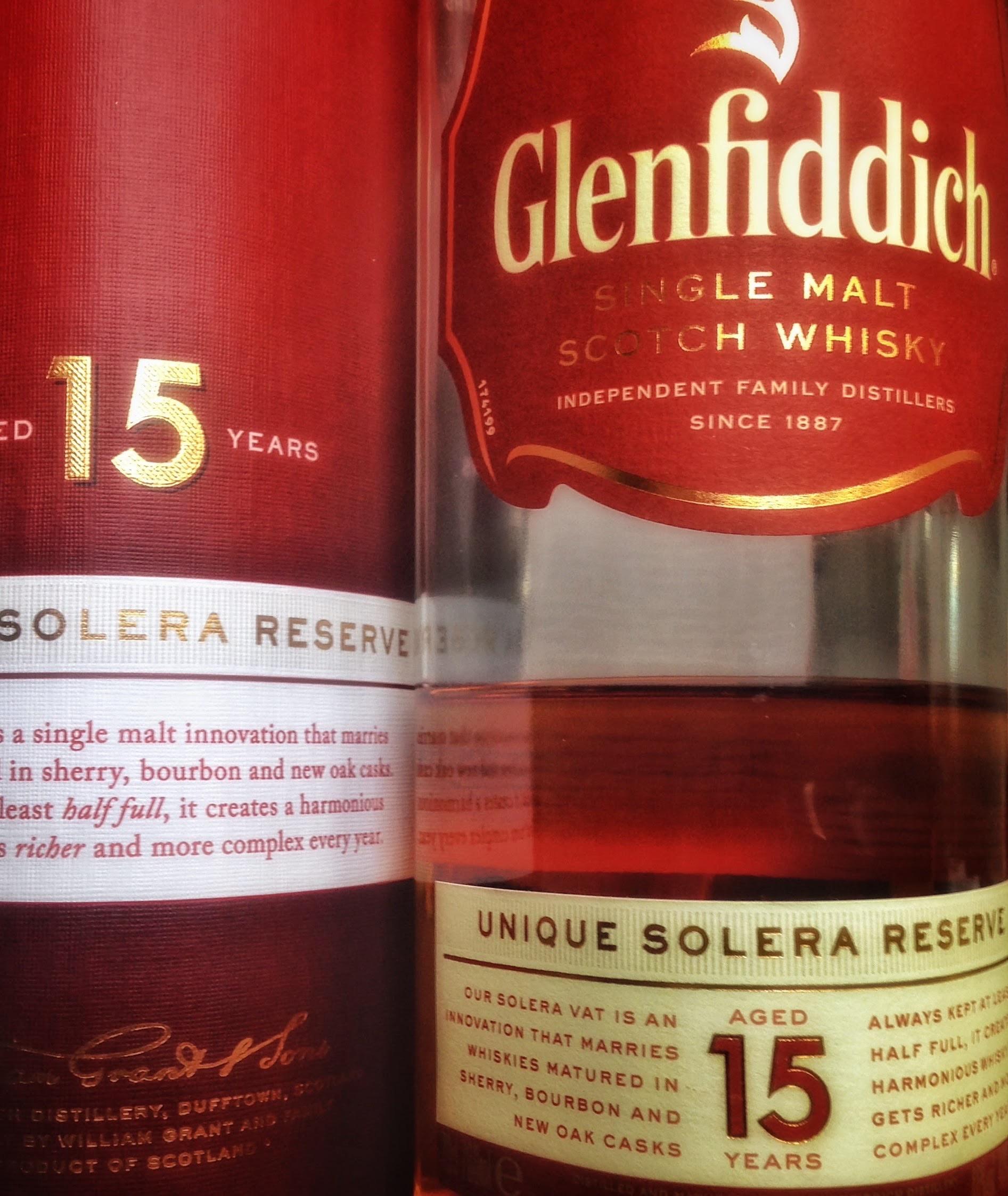 Glenfiddich 15 (solera)